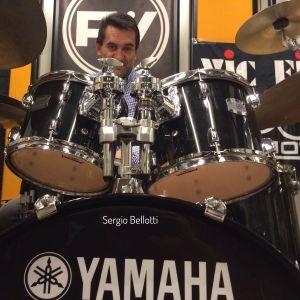 Sergio Bellotti drummer interviews