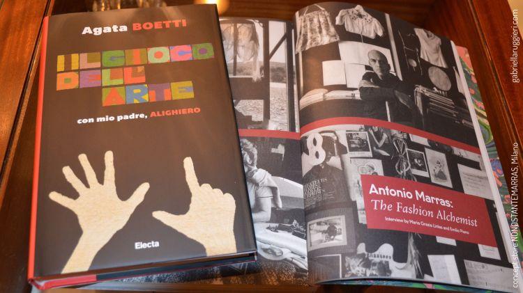 Agata Boetti, presentation IL GIOCO DELL'ARTE con mio padre Alighiero