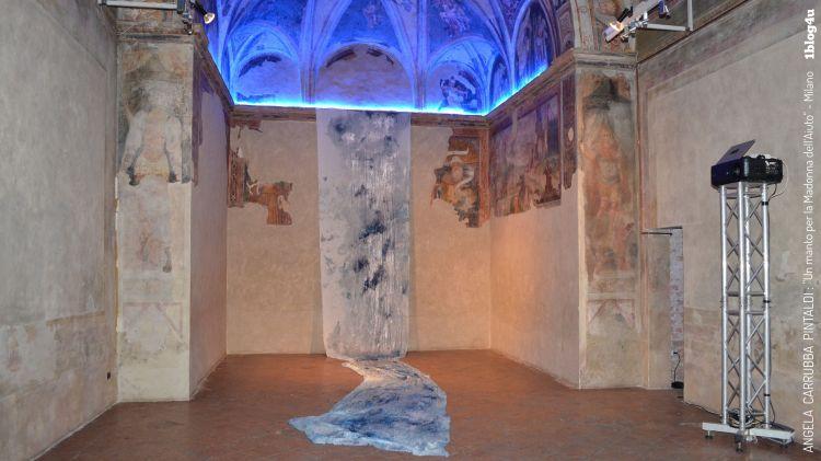 Basilica-di-Sant-Ambrogio-Milano-Italy-Un-manto-per-la-Madonna-del-aiuto-Angela-Carrubba-Pintaldi-with-Emanuele-Viscuso-1blog4u-best-bloggers-Gabriella-Ruggieri-13r