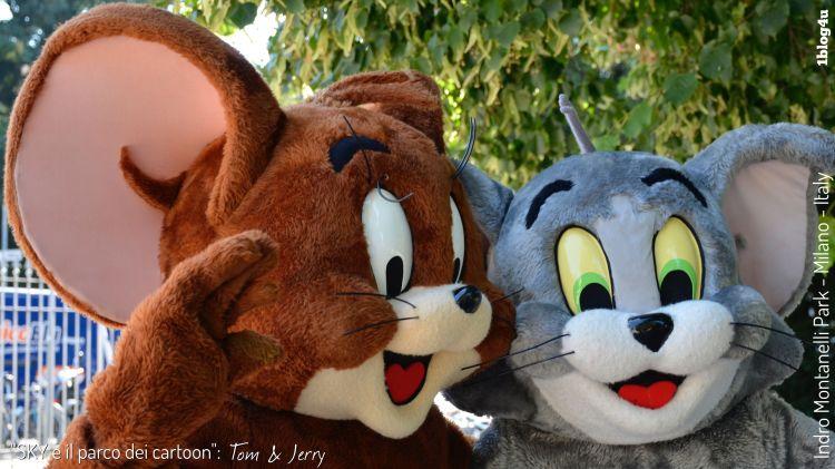 SKY e il parco dei cartoon - Tom and Jerry - Indro Montanelli Park, Milano