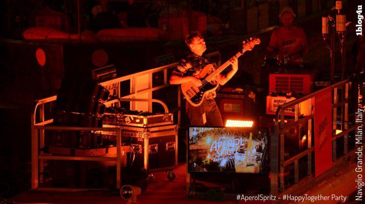 Aperol Spritz - Happy Together Party at Naviglio Grande in Milan, Italy
