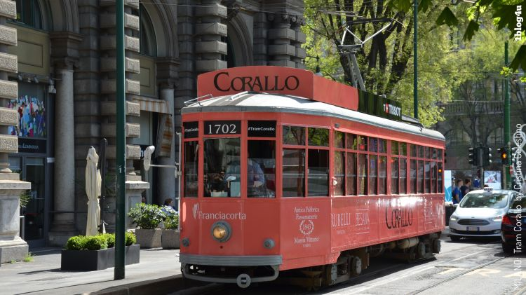 Tram Corallo Milano Design Week 2018