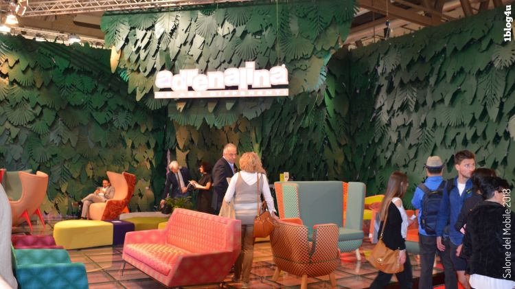 ADRENALINA design at Salone del Mobile 2018