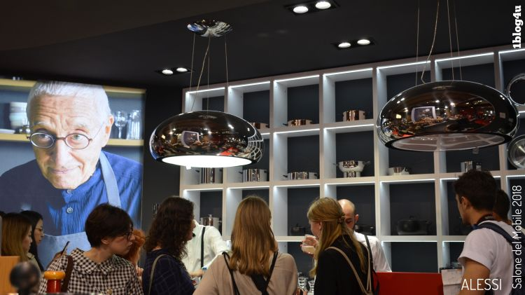 ALESSI at Salone del Mobile 2018