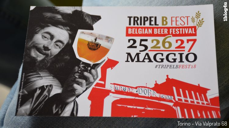 TRIPEL B Belgian beer in Turin
