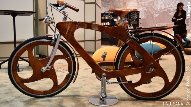 TINO SANA bicicletta Salone del Mobile 2018