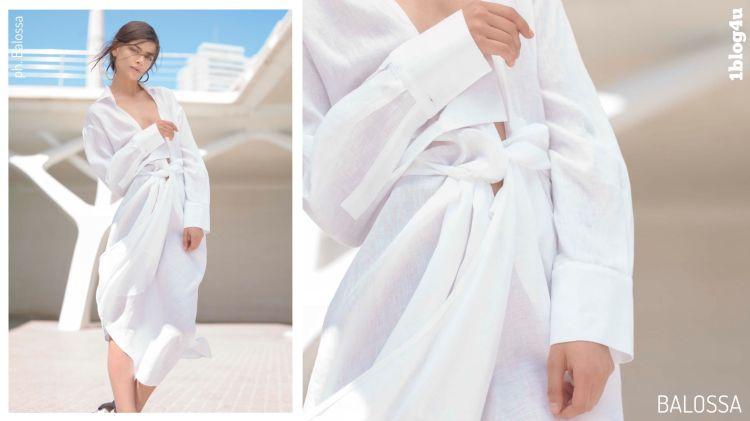 BALOSSA White Shirt - Indra Kaffemanaite stylist - Sring-Summer 2019