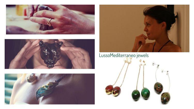 LussoMediterraneo jewels Maria Elena Savini interview