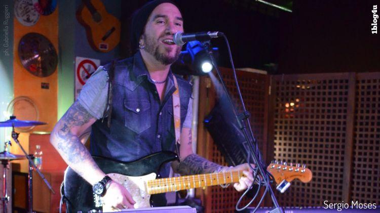 Sergio Moses - vocal coach, musicista, chitarrista